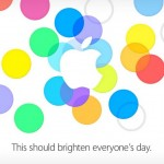 Keynote Apple Septembre 2013