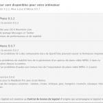 Mise à jour OS X 10.8