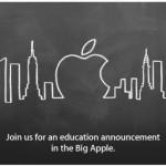 La keynote Apple Education est en ligne