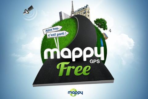 Mappy Gps Gratuit Pour Ios Exp Rience Geek