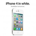 [Apple] L'iPhone 4 Blanc arrive demain